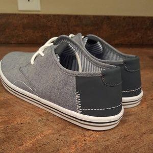 Mens causal denim dock shoes